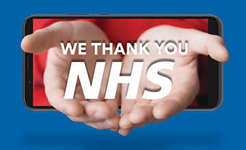We thank you NHS